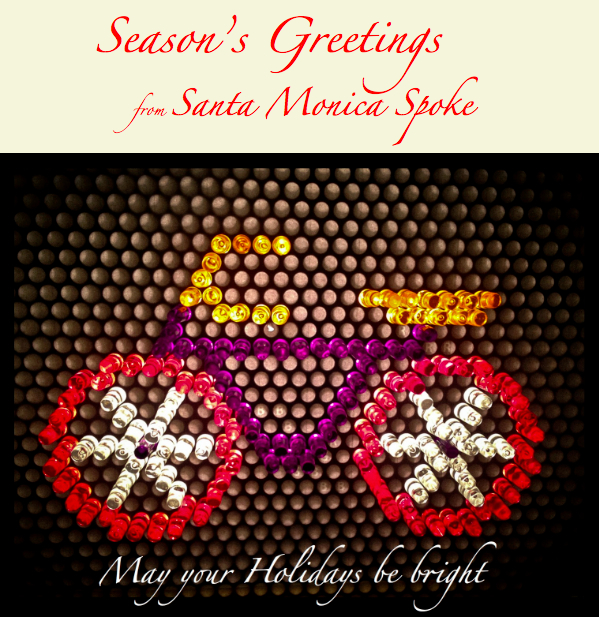 May all your holidays be Bikey and Bright and HAPPY NEW YEAR!