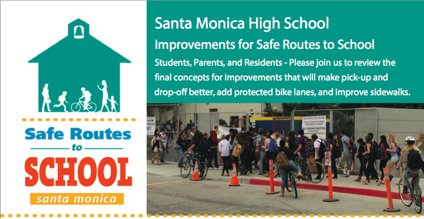 Safe Routes to School Flyer 10/2013