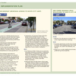 2nd/Main Bikeway, Bike Action Plan