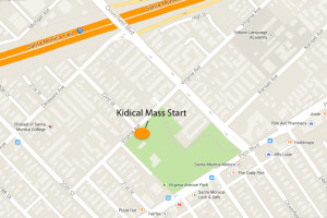 Virginia Park Kidical Mass Map