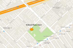 Virginia Park Kidical Mass Map
