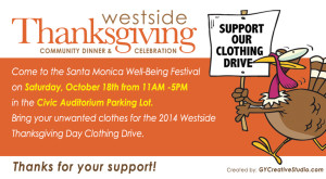 Clothing Drive Email