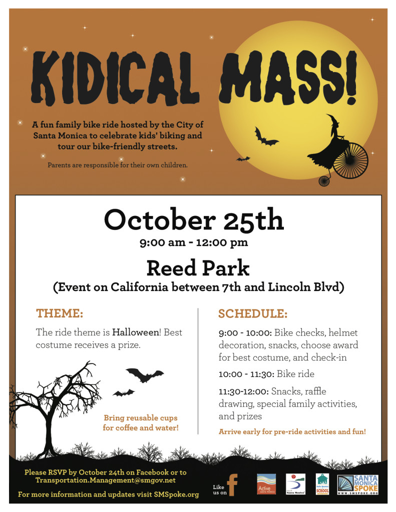 Save the Date October 25th, 2014: Kidical Mass Halloween ...