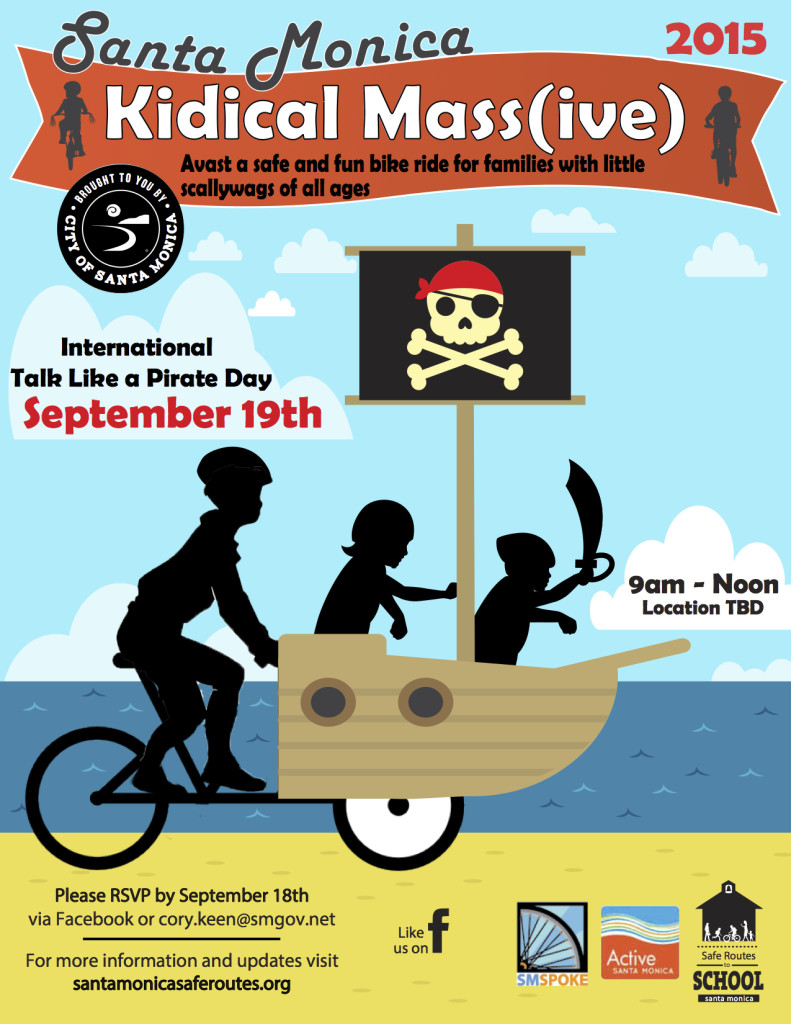 Kidical Mass-IVE 2015 Flyer