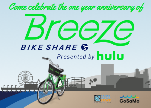 Breeze 1 year Celebration